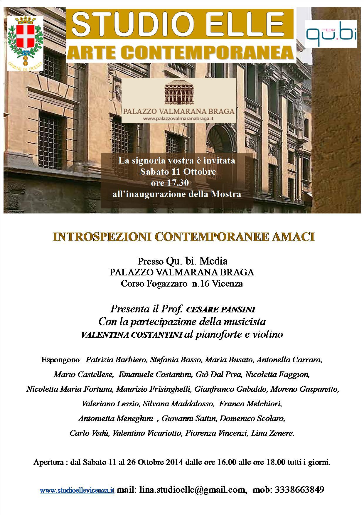 mostra palazzo Valmarana Amaci2014