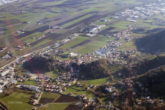 Foto aerea Montorso Vicentino