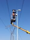 Risparmio energetico in zona industriale, grazie alla sostituzione delle lampade a vapori di sodio con lampade aled
