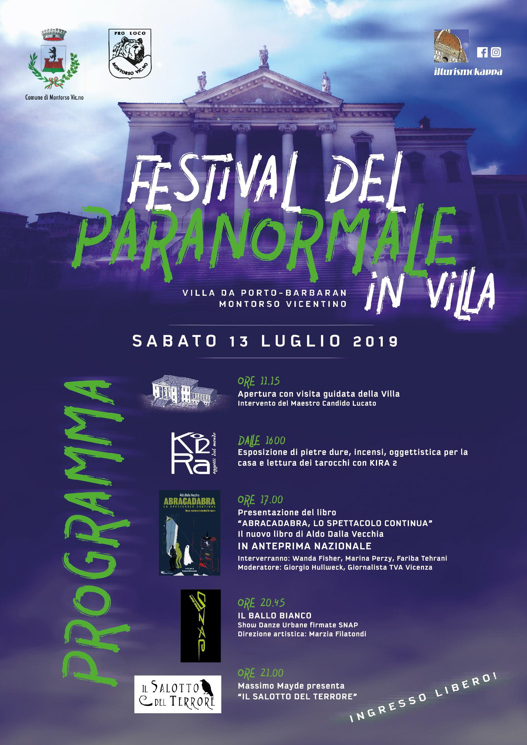 festival paranormale