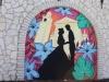 I murales di Romeo e Giulietta realizzati da quattro giovani artisti rinnovano l'aspetto di PiazzaMalenza